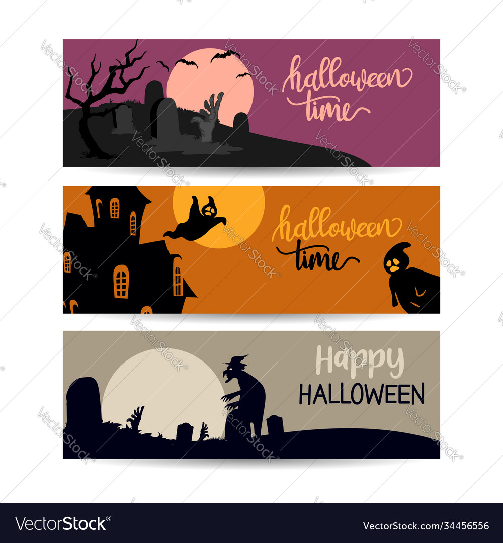 Happy halloween promo sale banner can use for