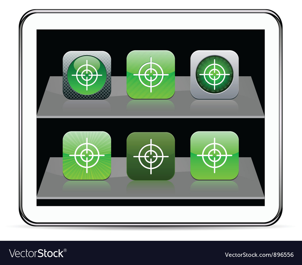 Sight green app icons