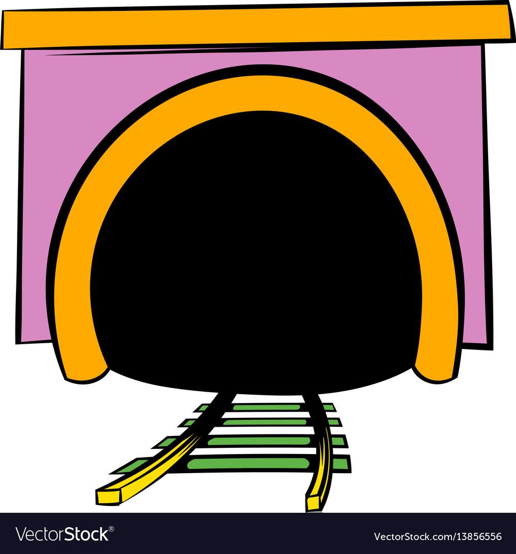 Tunnel icon icon cartoon