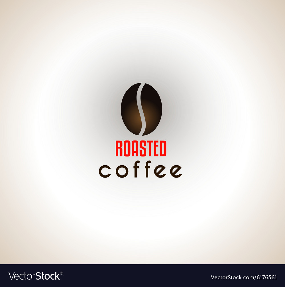 Conceptual Coffee Text with stylized Icon to use