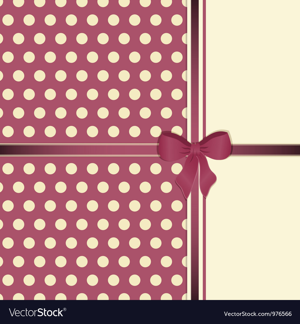 Cute Decorative Background vector image