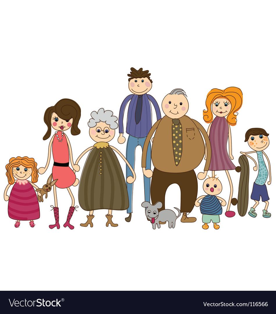 Английская семья картинки