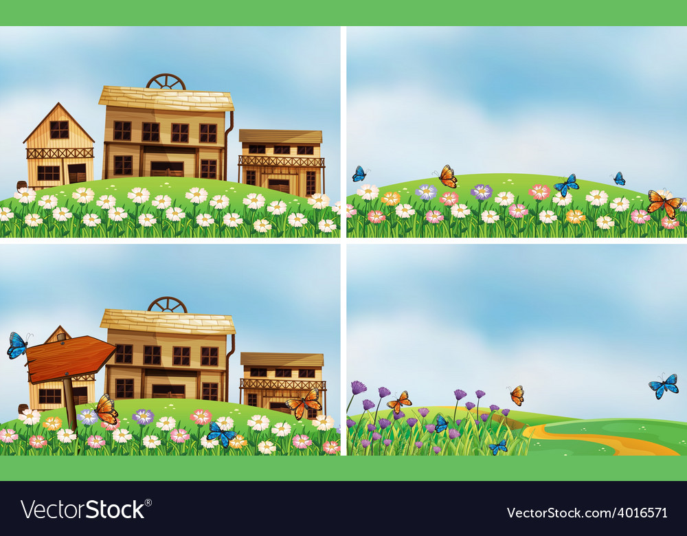 Houses and nature