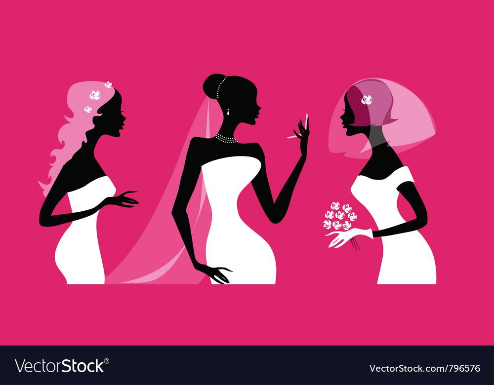 Brides silhouettes