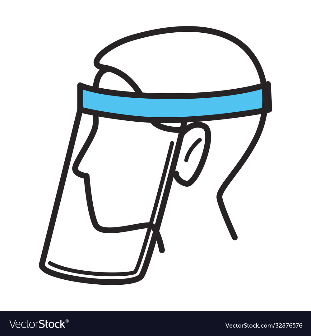 Face shield protective mask measures during
