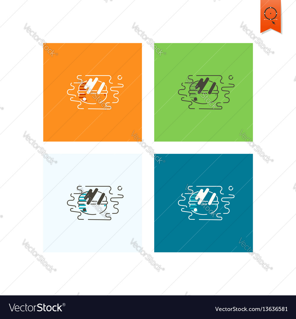 French macaroon cookies vector image