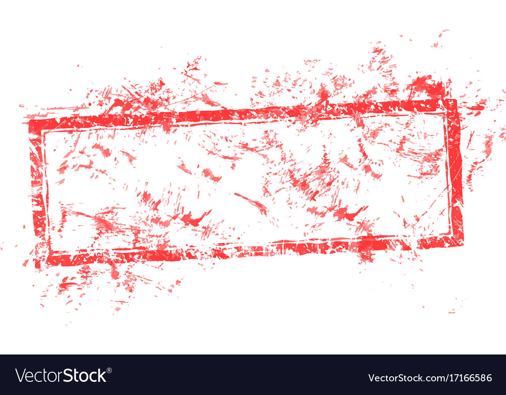 Blank dirty red used business grunge