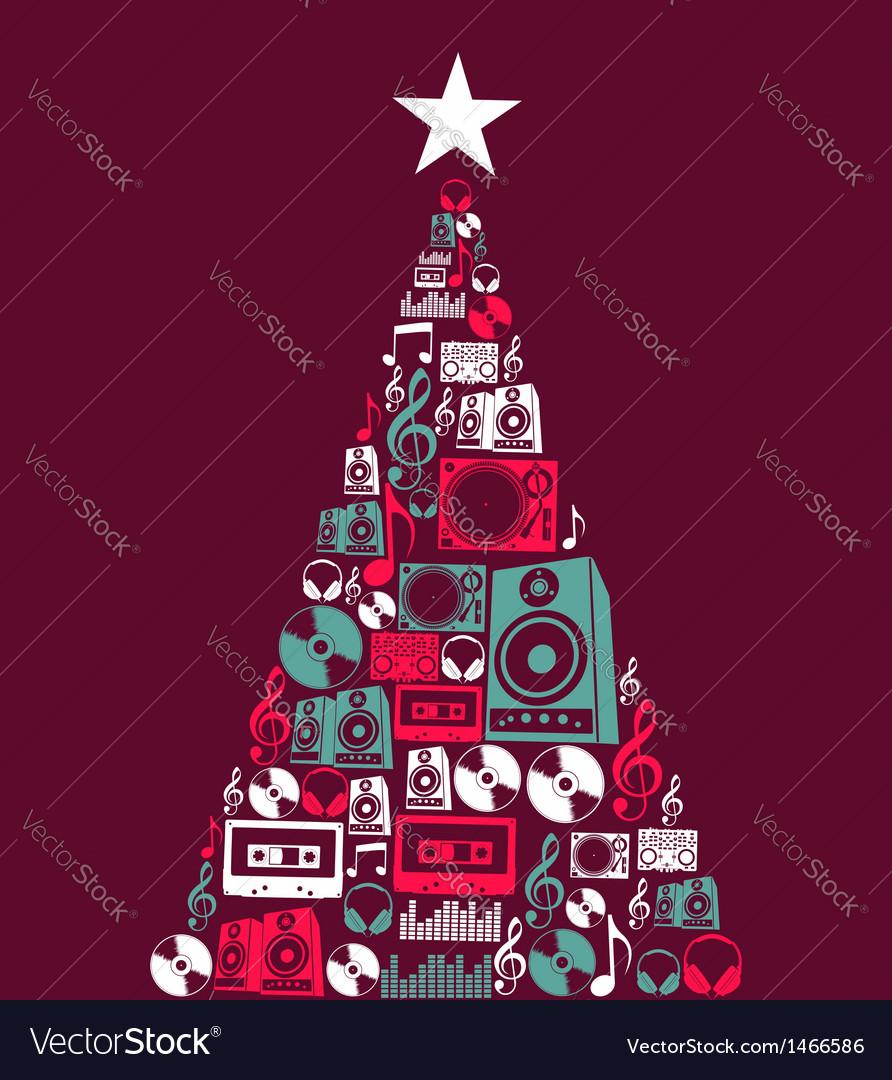 Free Christmas Music.Christmas Music Objects Tree
