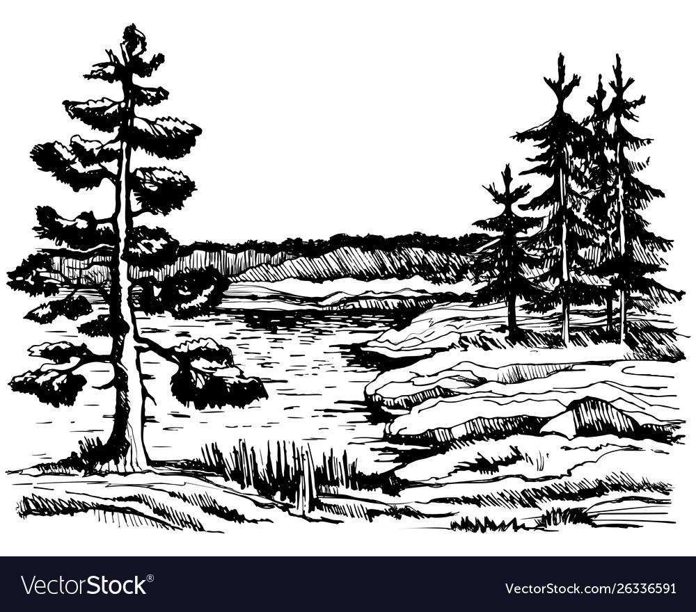 Canada background view beautiful landscape