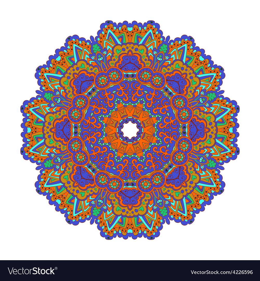 Mandala Round Ornament Pattern