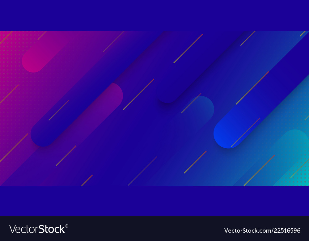 Modern gradient geometric background
