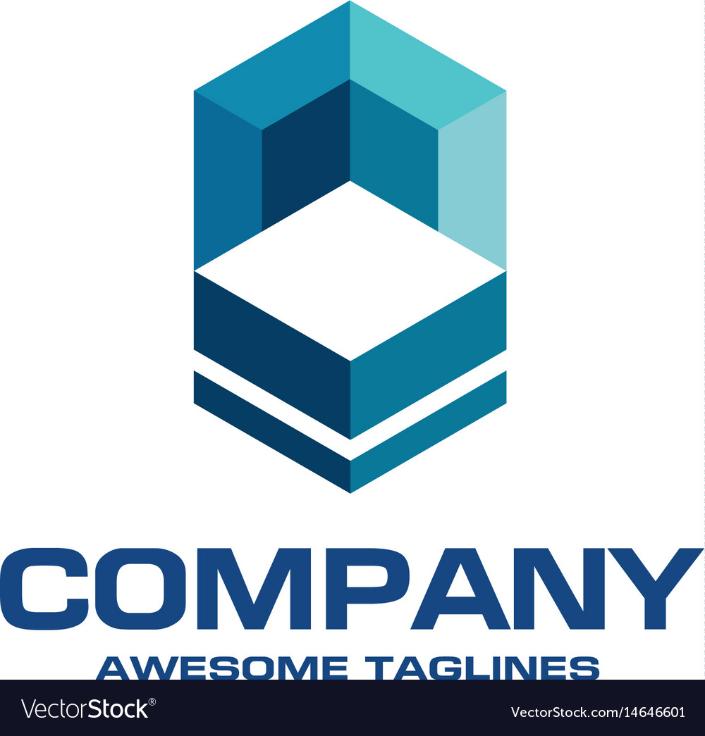 Construction and building logo concept