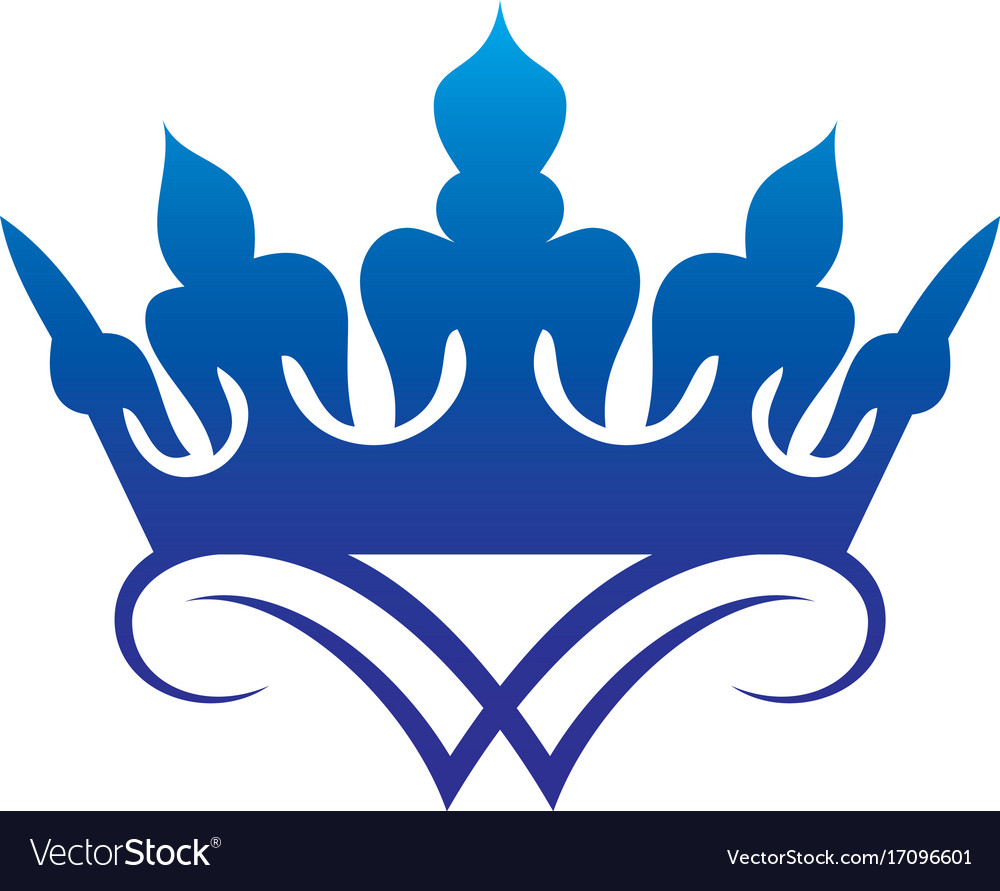 crown logo royalty free vector image vectorstock