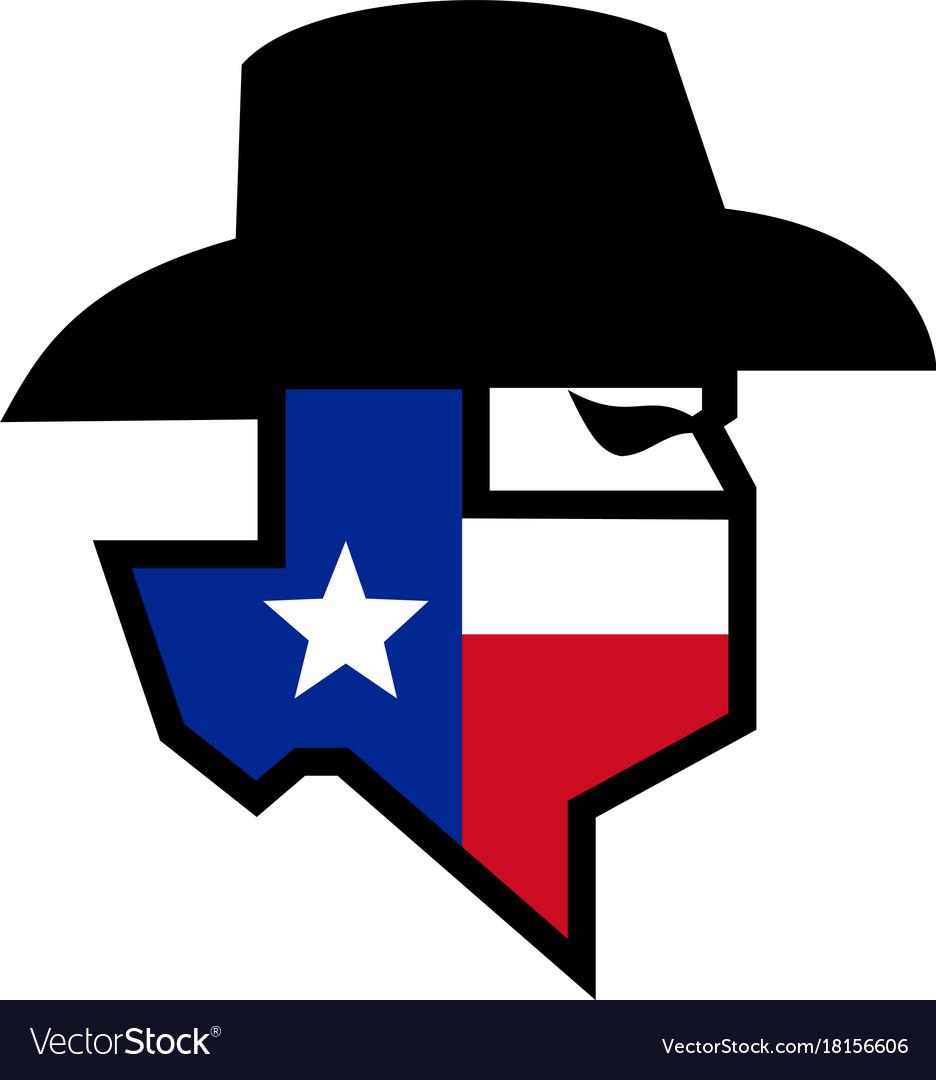 Bandit texas flag icon
