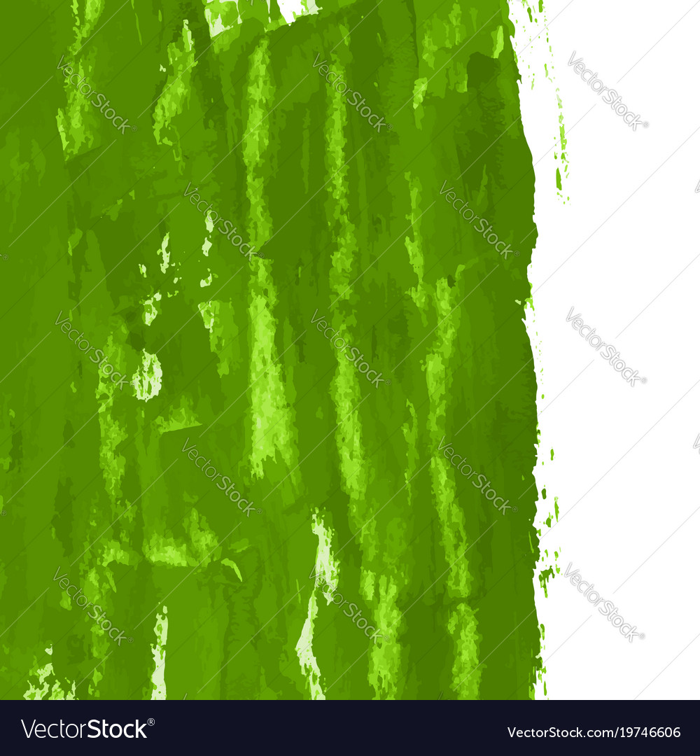 Greenery hand paint watercolor grass texture Vector Image
