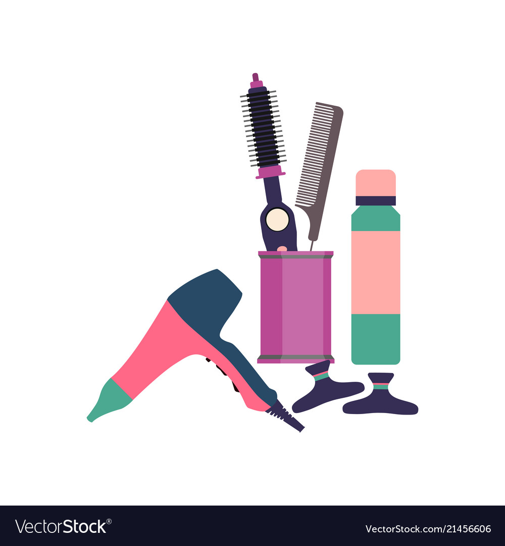 Professional hairdresser tools barber fashion