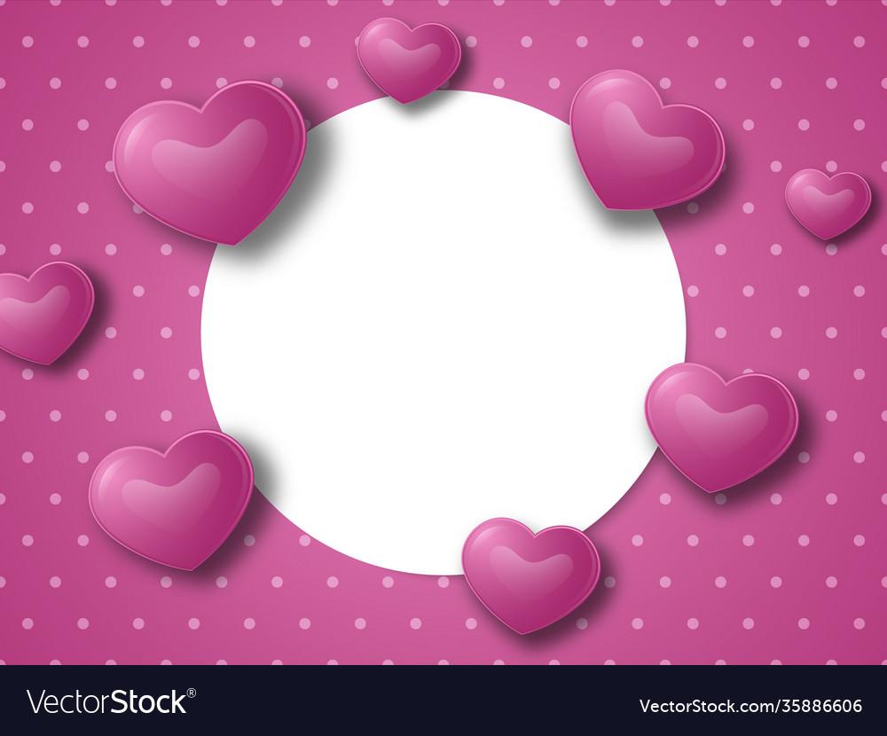 Valentines day or wedding concept background