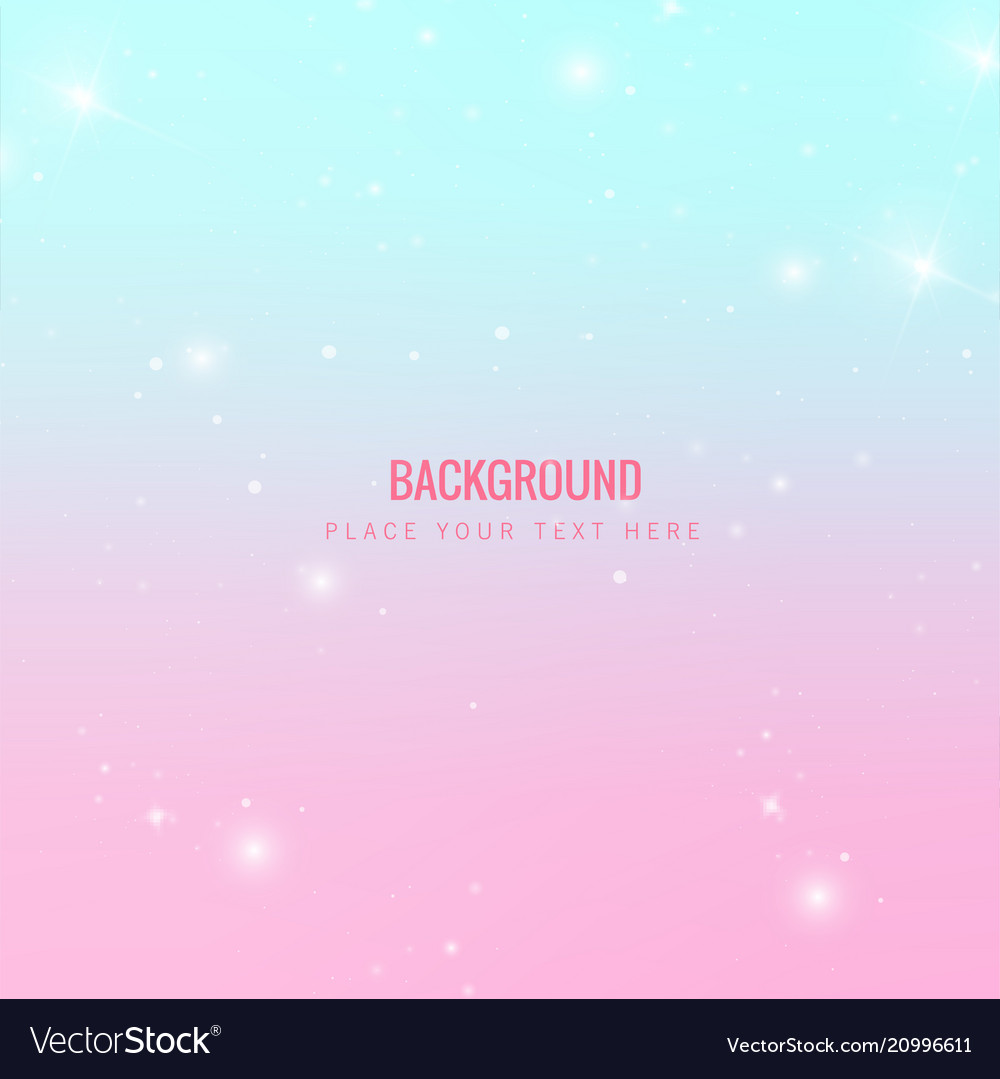 Abstract star shining blue pink background