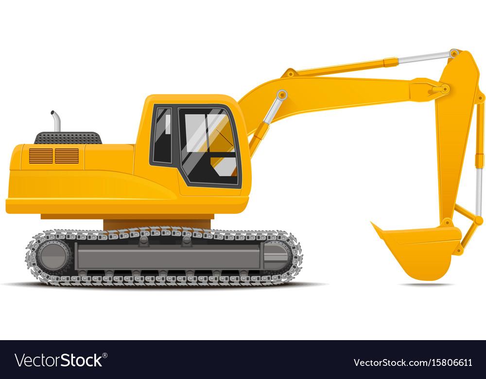Excavator realistic
