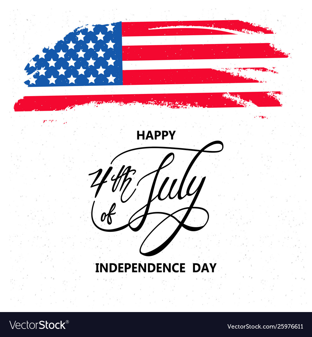 Happy independence day or 4th july background