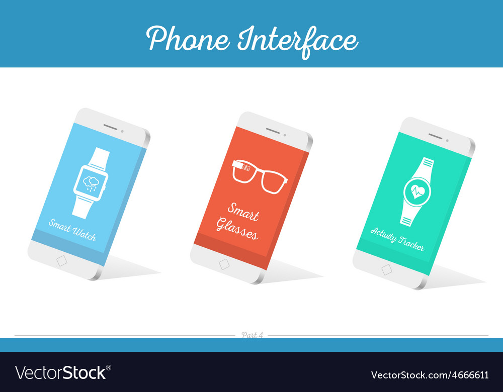 Interface 3D Smartphone Models with Media