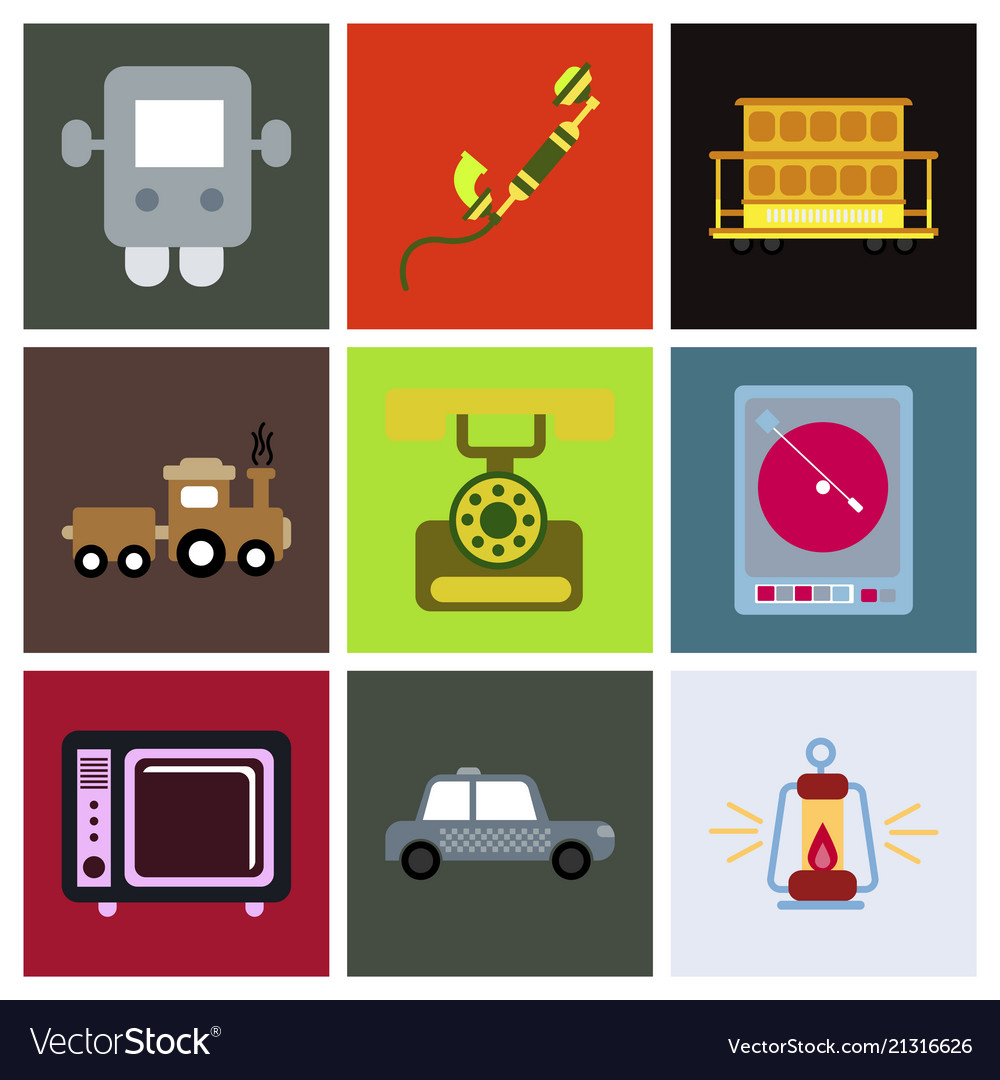 seamless pattern retro vintage video game