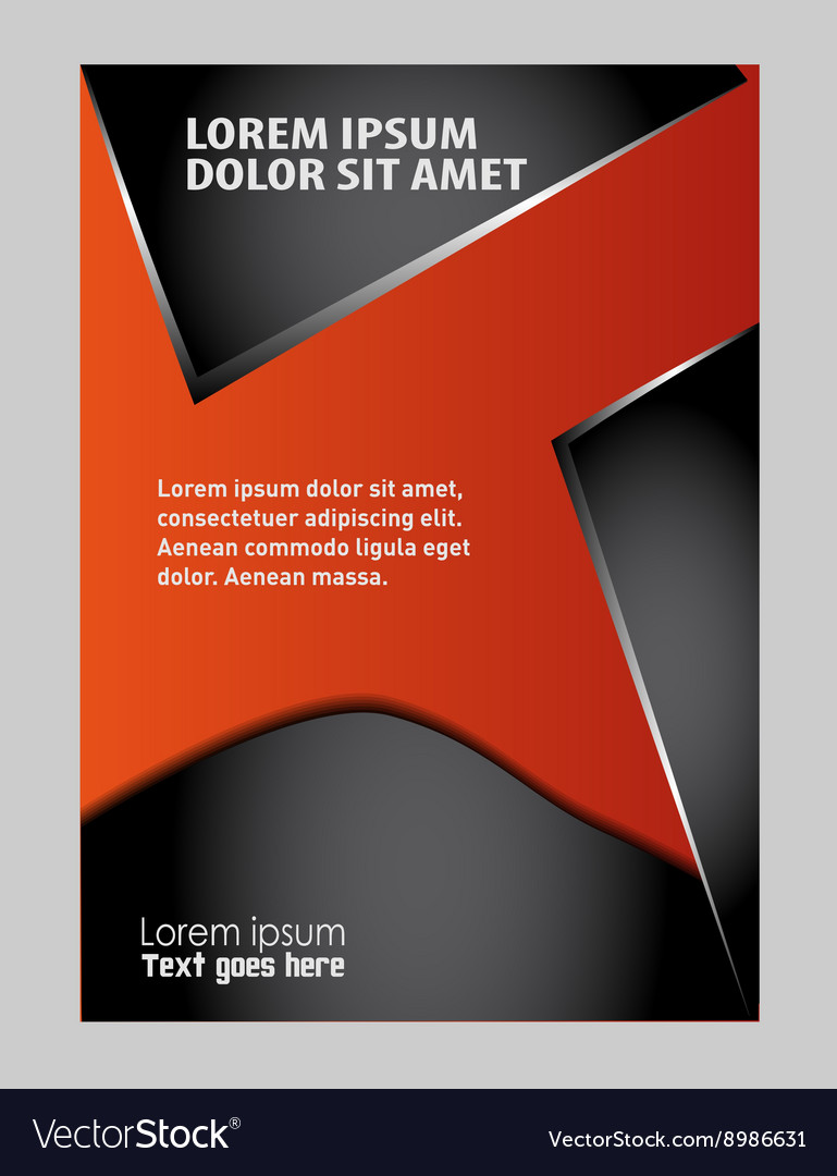 Abstract flyer background