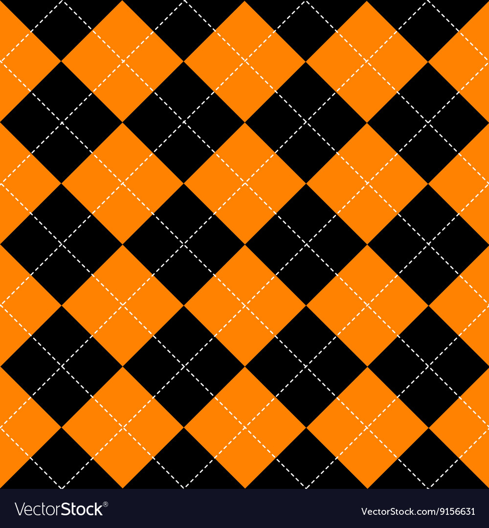 orange black diamond background royalty free vector image. Black Bedroom Furniture Sets. Home Design Ideas