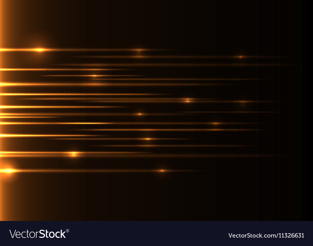 Orange speed laser
