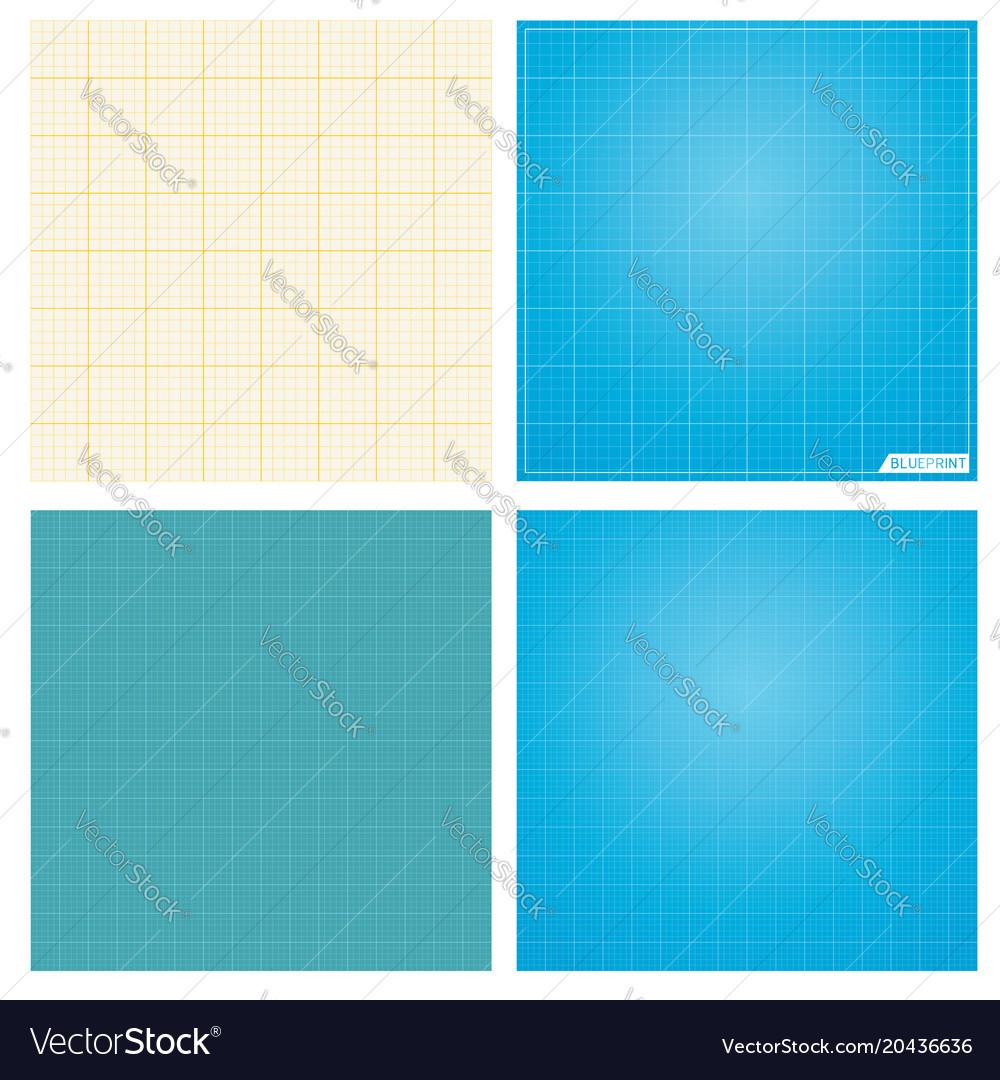 Set of seamless blueprint background royalty free vector set of seamless blueprint background vector image malvernweather Gallery