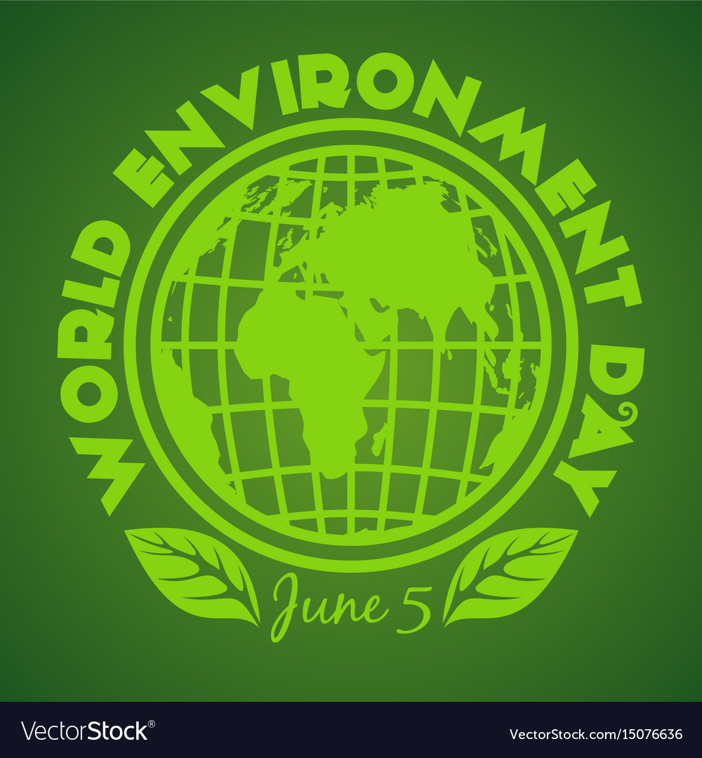 World environment day logo design june 5