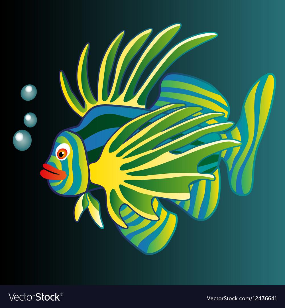 Colorful Fish Royalty Free Vector Image - VectorStock