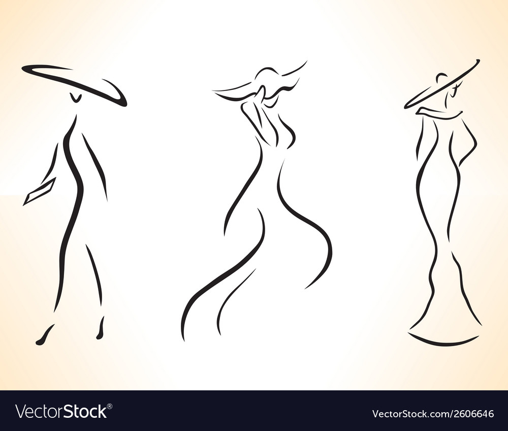 Symbolic stylized woman