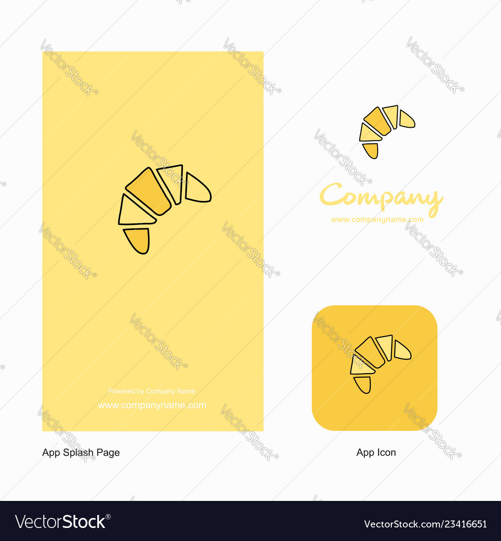 Bun company logo app icon and splash page design