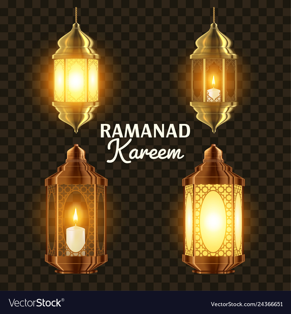 Ramadan lamp set islam kareem lamp