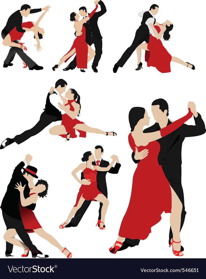 salsa dancing royalty free vector image vectorstock vector free download - sony movie channel vector free download asia