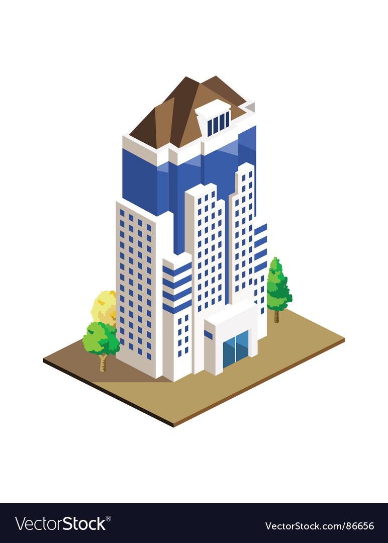 Building vector image