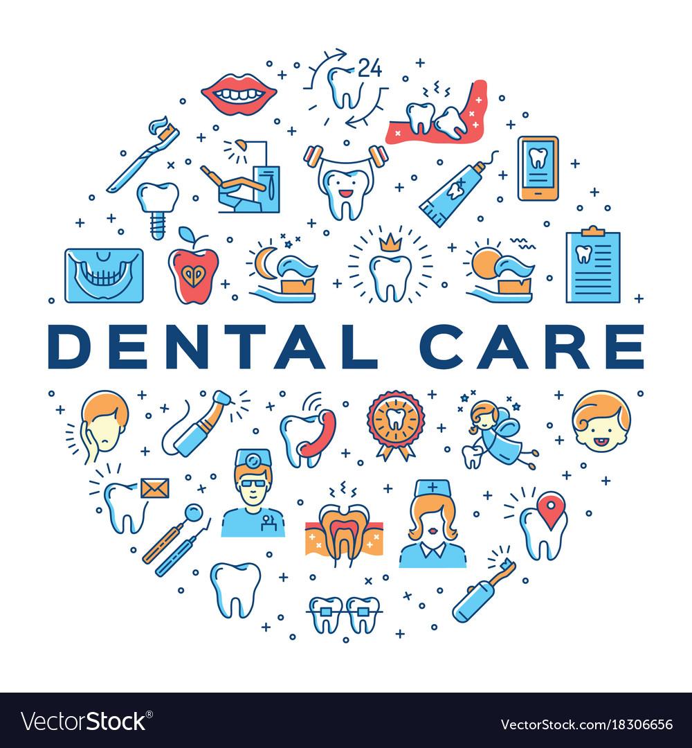 dental-care-circle-infographics-stomatol