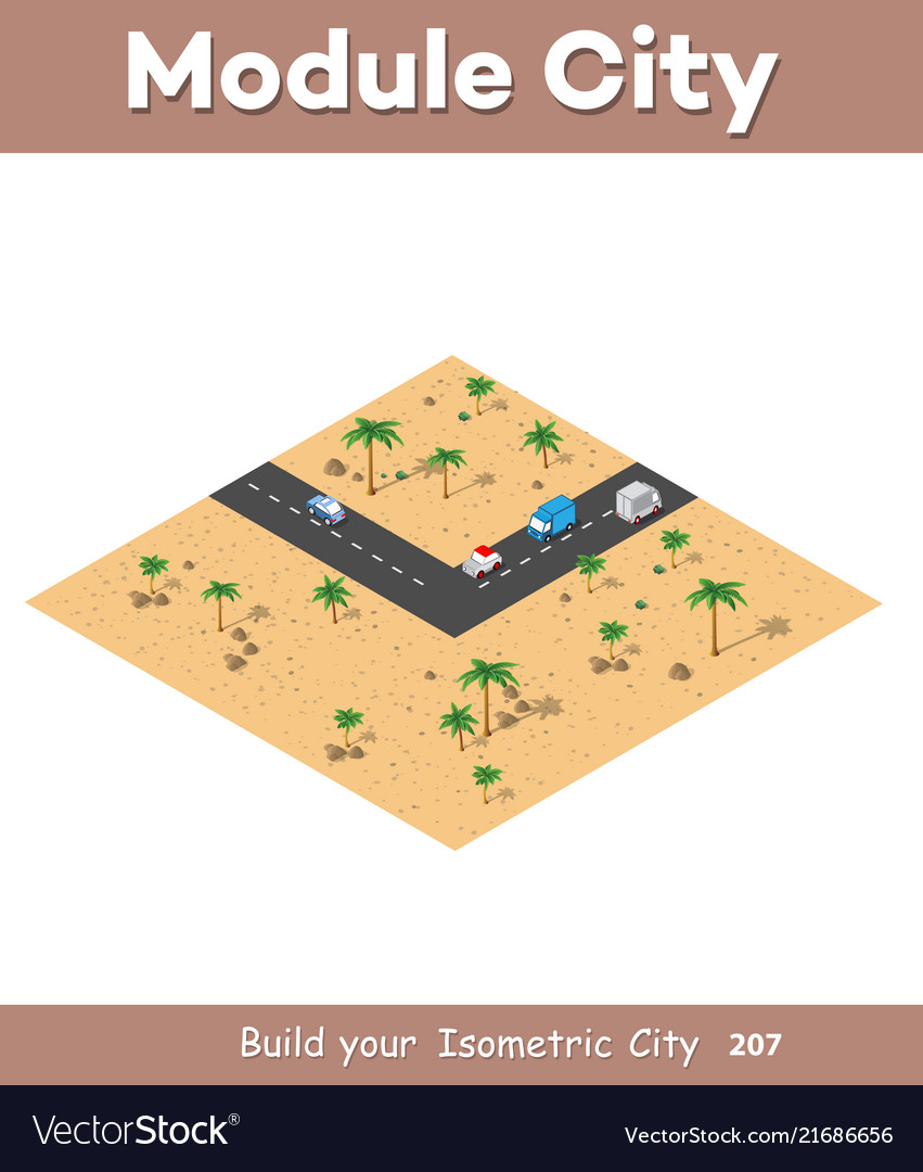Isometric modules for construction