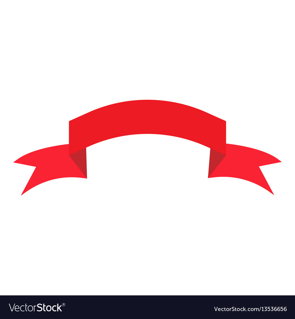 Ribbon red sign 1303