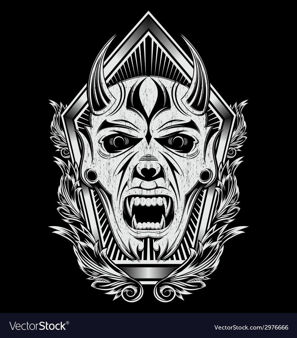 Devil Face Artwork