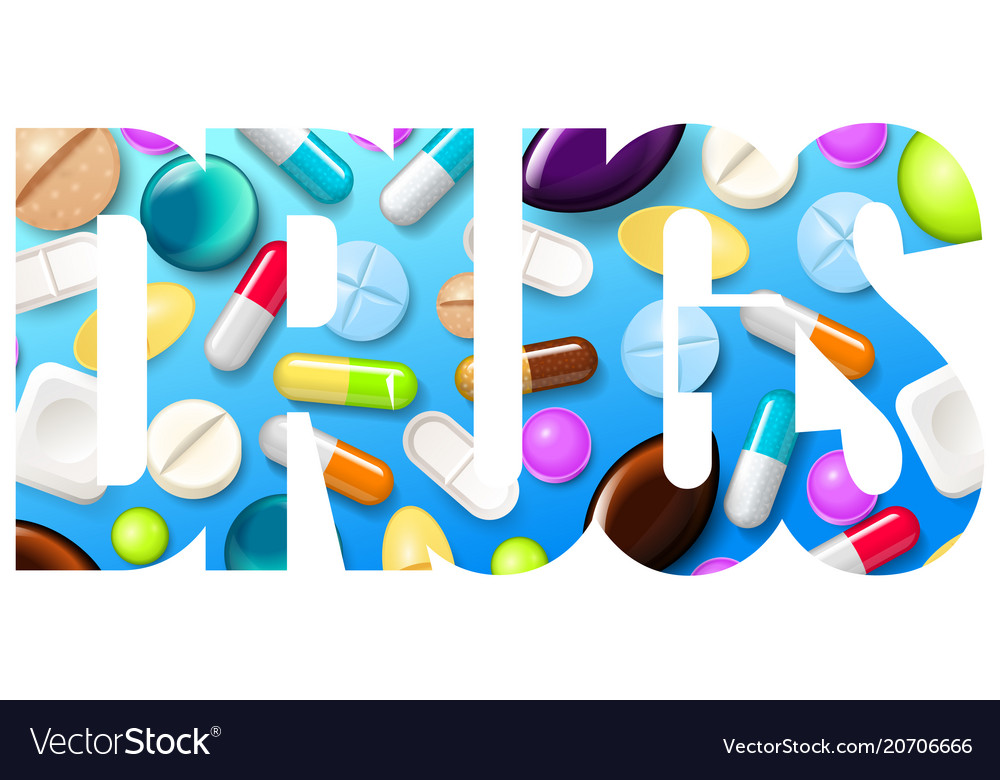 Pills background vitamin tablets for good health