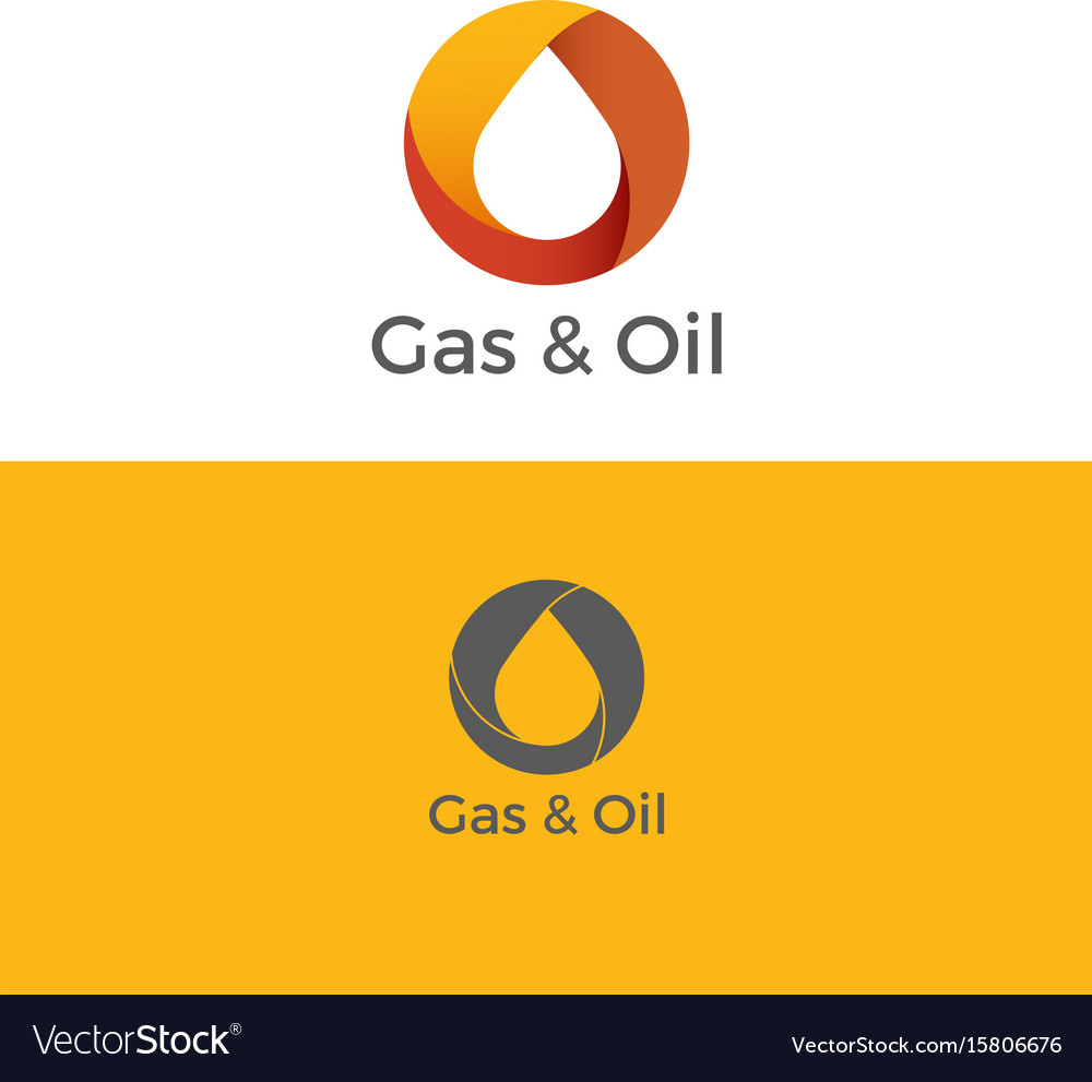 Gas and oil logo