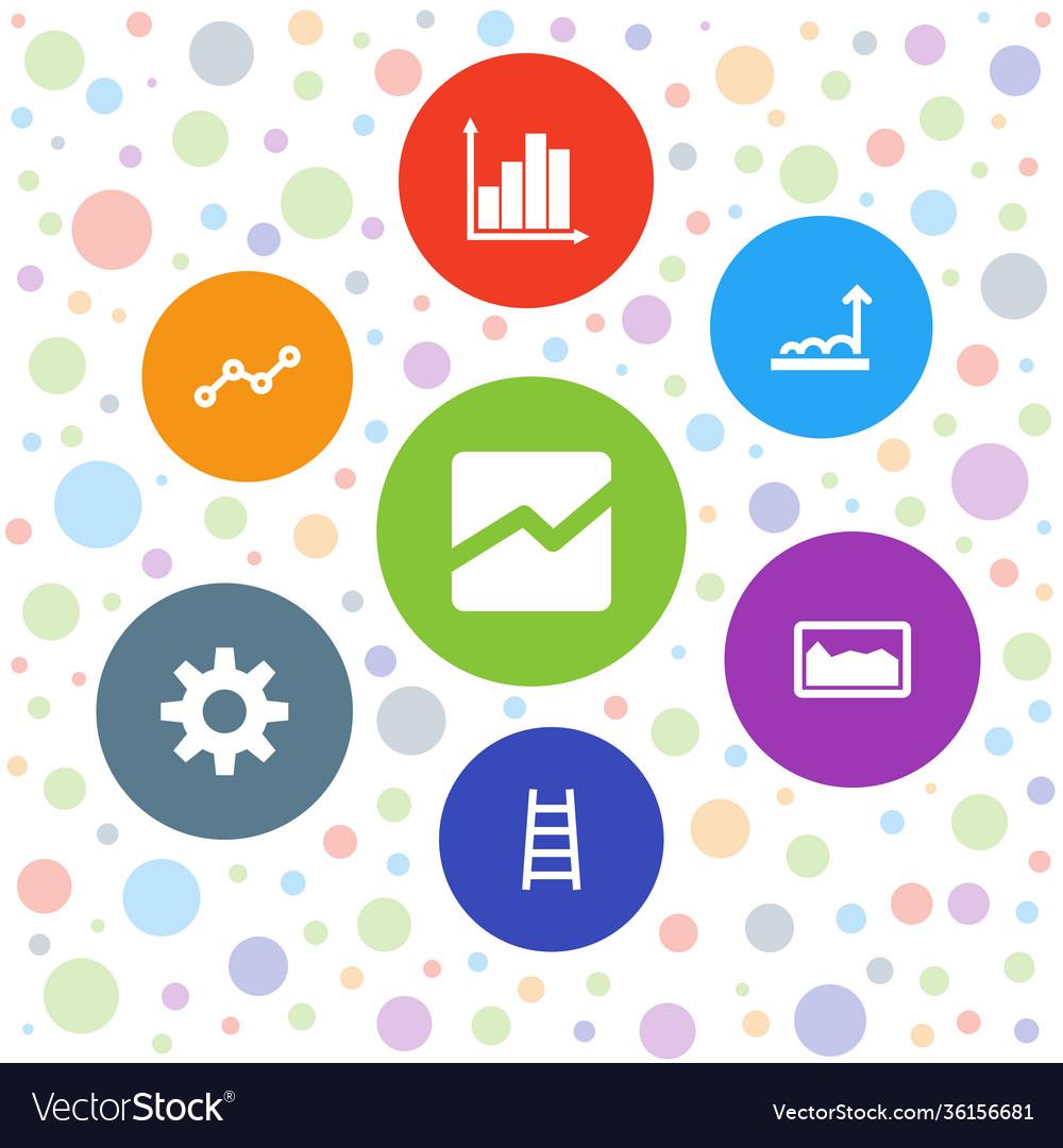 7 progress icons