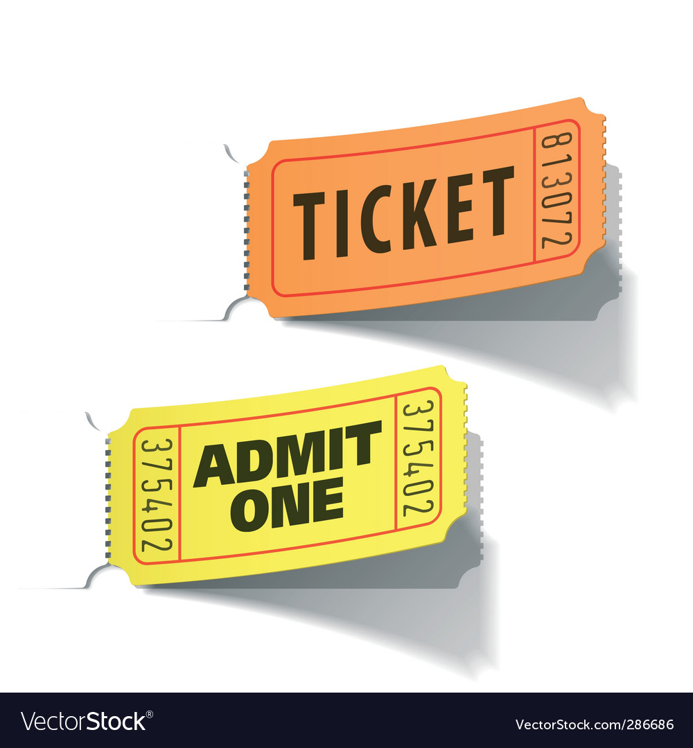 Entrance tickets