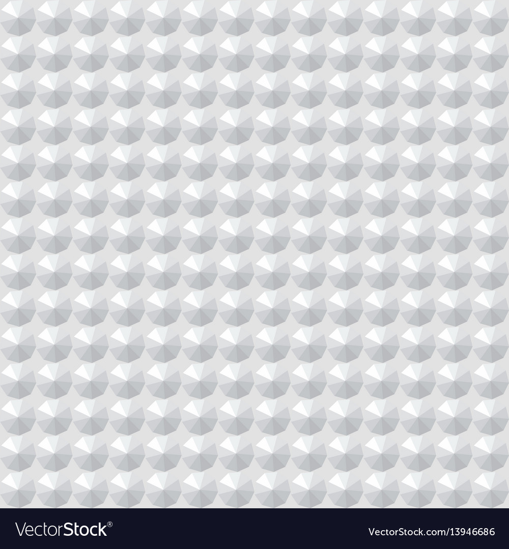 Seamless texture white geometric patterned