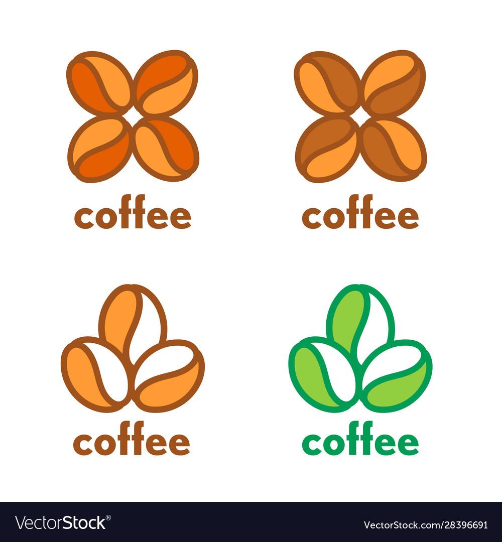 Cofee grain coffee coffee beans logo cofee