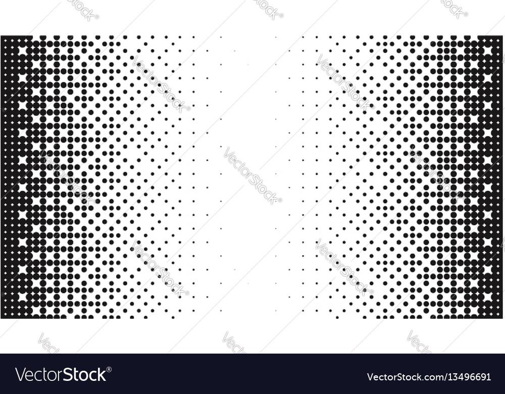 Halftone pattern gradient background round spot