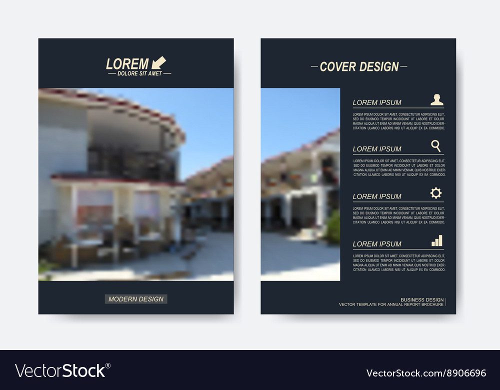 Modern templates for brochure Leaflet