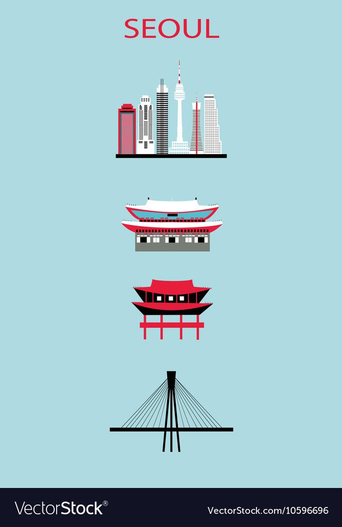 Set of Seoul symbols